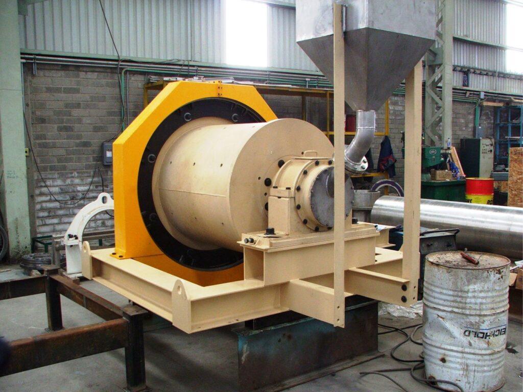 3x3 foot ball mill