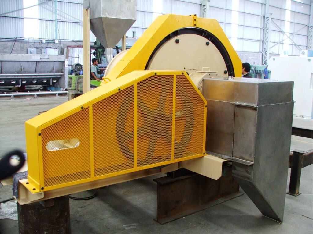 A 3x3 foot ball mill manufactured in Mexico.