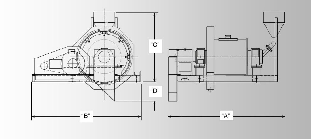 Custom built ball mill product dimension and size options, Neumann Machinery Grinding Mills