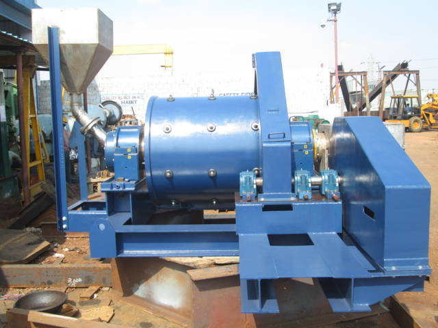 Third view of this ball mill manufactured in India.