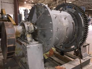 A rebuild of a skid-mounted original EIMCO mill.